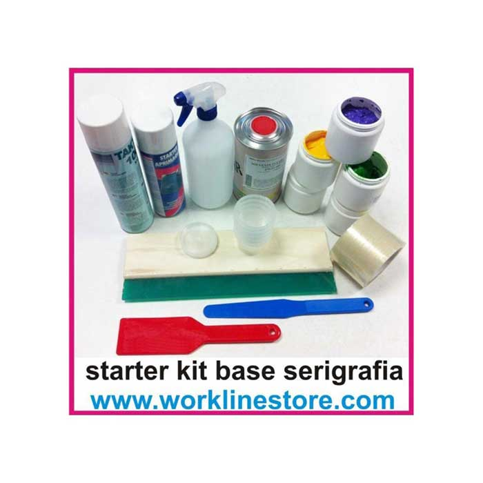 Kit base starter kit serigrafia