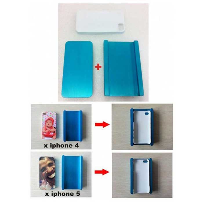 Stampo doppio x Cover sublimatica per iphone 4 o 5
