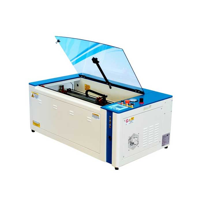 Plotter Laser Co2 Desktop 750x300mm 50W con Telecamera