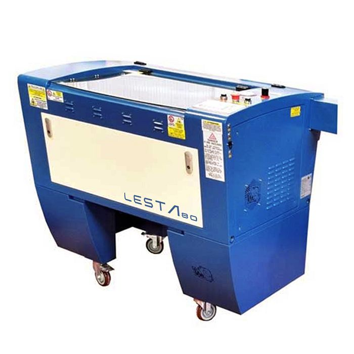 LESTA80 - Plotter Laser Co2 800x450mm 60W con Telecamera